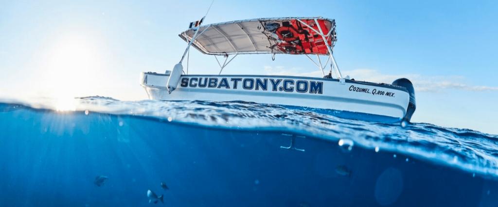 ScubaTony Diving header