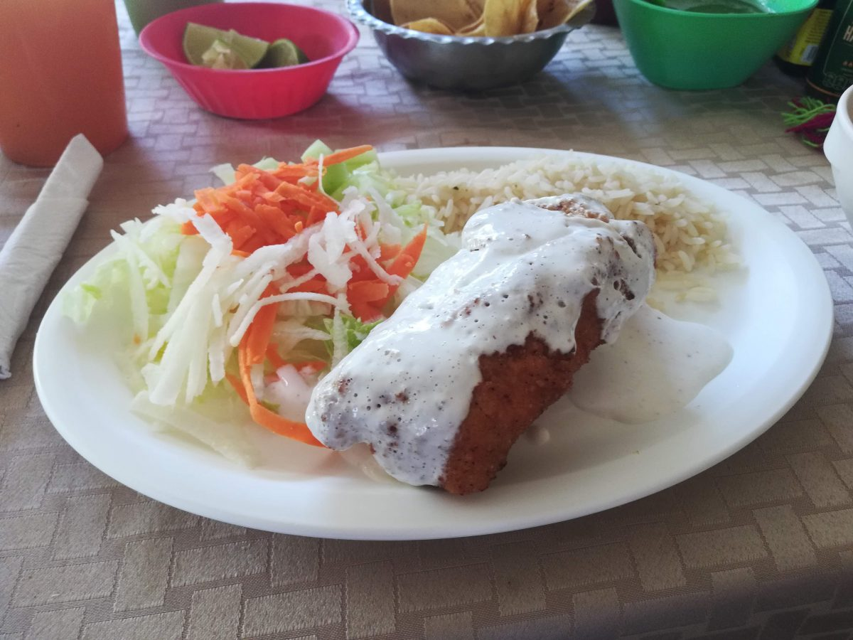 Cozumel restaurant review Las Palmas